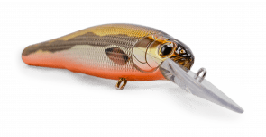the mailman bad painted minnow wobbler