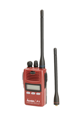 Hunter F1 jaktradio 140/155 MHz